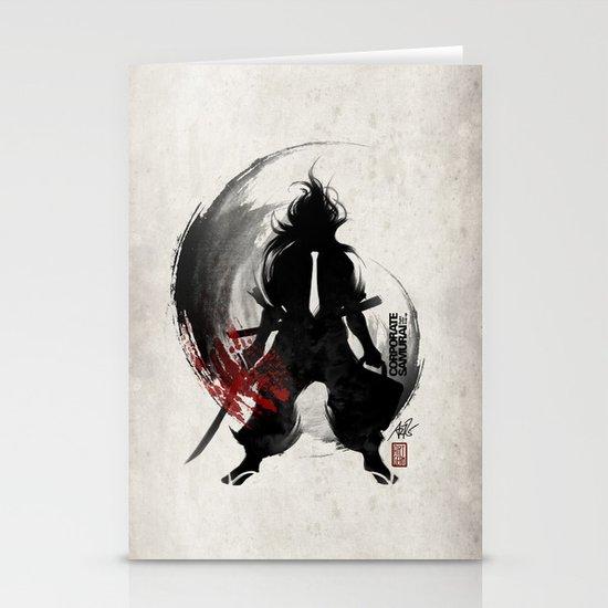 Corporate Samurai Stationery Cards