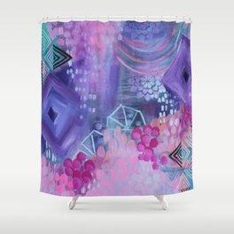 Dream in Purple Shower Curtain