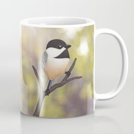 Ellery the black-capped chickadee Coffee Mug