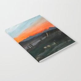 Sunset Over the Superstitions Notebook