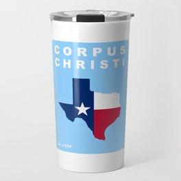 Corpus Christi. Travel Mug