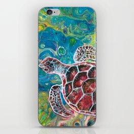 Sea Turtle Dream iPhone Skin