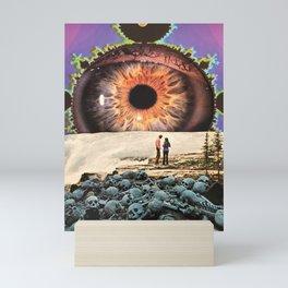 Life and death Mini Art Print