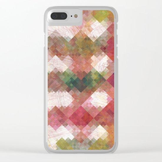 Aztec Vintage Pattern 04 Clear iPhone Case