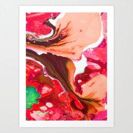 Colour River #5 Art Print