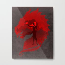 The Mother of Dragons Metal Print