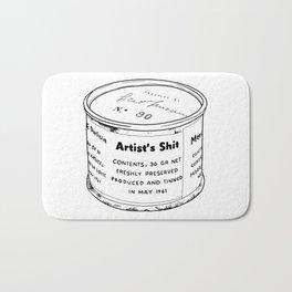 Piero Manzoni - Artist's Shit Bath Mat