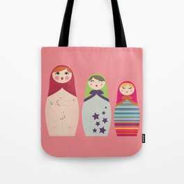 Russians Dolls whoops !  Tote Bag