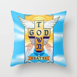 God Town, Welcome Home Throw Pillow