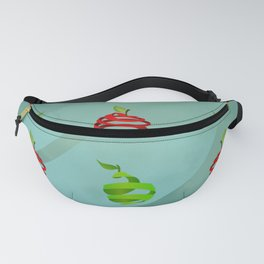 Red Apples and Green Pears Fanny Pack