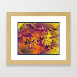 """""""Munny Moonwalk"""" Framed Art Print"""