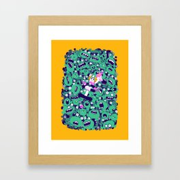 Keen Framed Art Print