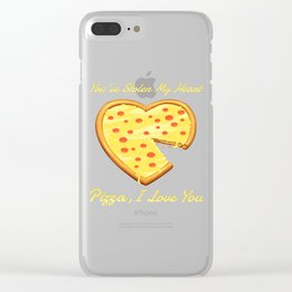 You've Stolen My Heart Clear iPhone Case