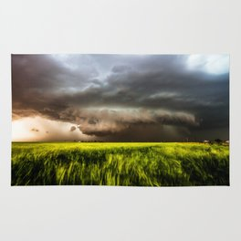 Inflow - Incredible Storm in Southwest Oklahoma Rug