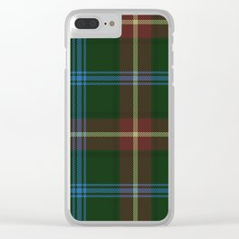 Tartan Of Manitoba Clear iPhone Case