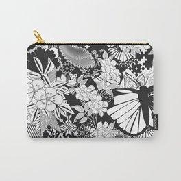 Butterflies & Flowers Carry-All Pouch
