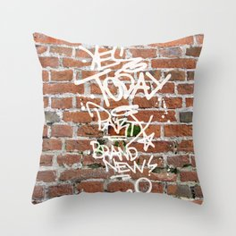 Yes Today Throw Pillow