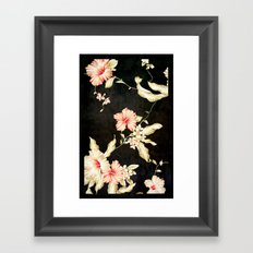 VINTAGE FLOWERS III - for iphone Framed Art Print