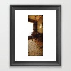 A Quiescent Mind/ Bass Mansion Framed Art Print