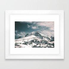 Mount Hood V Framed Art Print