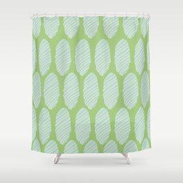 geometric shape texture pattern Shower Curtain