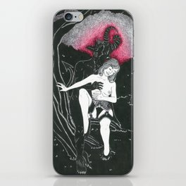 Communing with the Shadows iPhone Skin