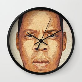 The Face Of Ambition Wall Clock