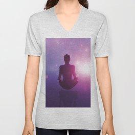 Deep Meditation Feeling Unisex V-Neck