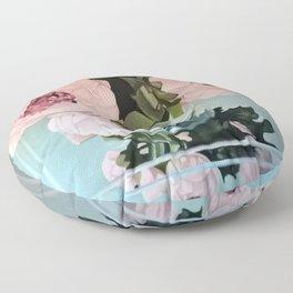 Peonies Floor Pillow
