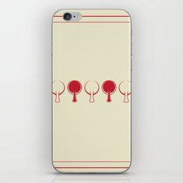 All In A Line iPhone Skin