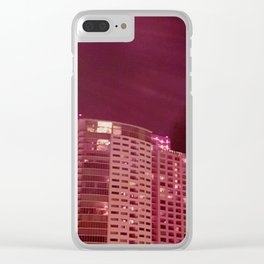 Red, Red, Rise Clear iPhone Case