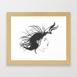 Pronghorn Femme Framed Art Print