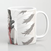 "burlesque Mugs featuring BURLESQUE by ""dfrnt"""