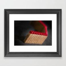 Redness  Framed Art Print