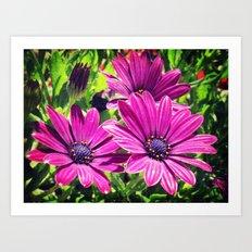 Flower Power 6 Art Print
