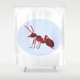 Fire Ant Shower Curtain