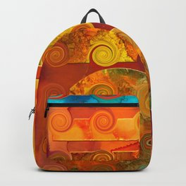 Curlicue Universe Backpack