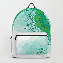 Heart Chakra Art Backpack