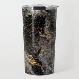 Galaxy (black gold) Travel Mug