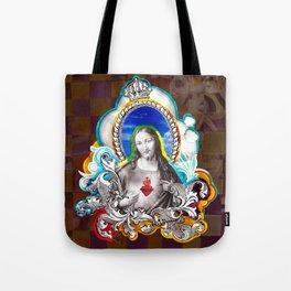 Sagrado Coração de Jesus (Sacred Heart) #1 Tote Bag