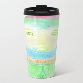 Spiritual Drawing of Author J. R. R. Tolkien Travel Mug
