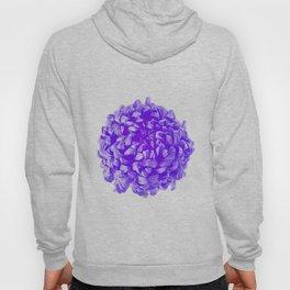 Purple Pop Art Inspired Flower Hoody