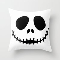 jack Throw Pillows featuring Jack by Jason Michael