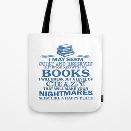 BOOKS CRAZY Tote Bag