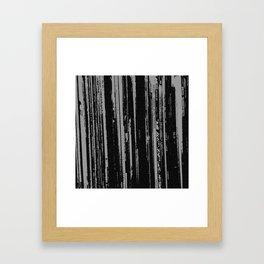 Records 1 Framed Art Print