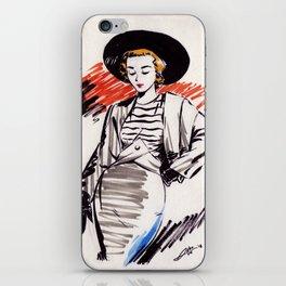 Dressing Ink I. iPhone Skin
