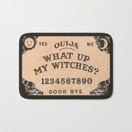 What Up Witches Spirit Board Bath Mat