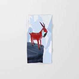 Mountain Goat Design Hand & Bath Towel