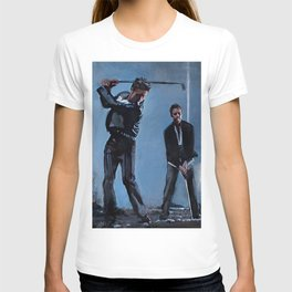 Tyler Durden and the Narrator - Golfing Buddies - Fight T-shirt
