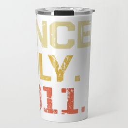 Epic Since July 2011 T-Shirt- 8 Years Old Shirt Gift Travel Mug